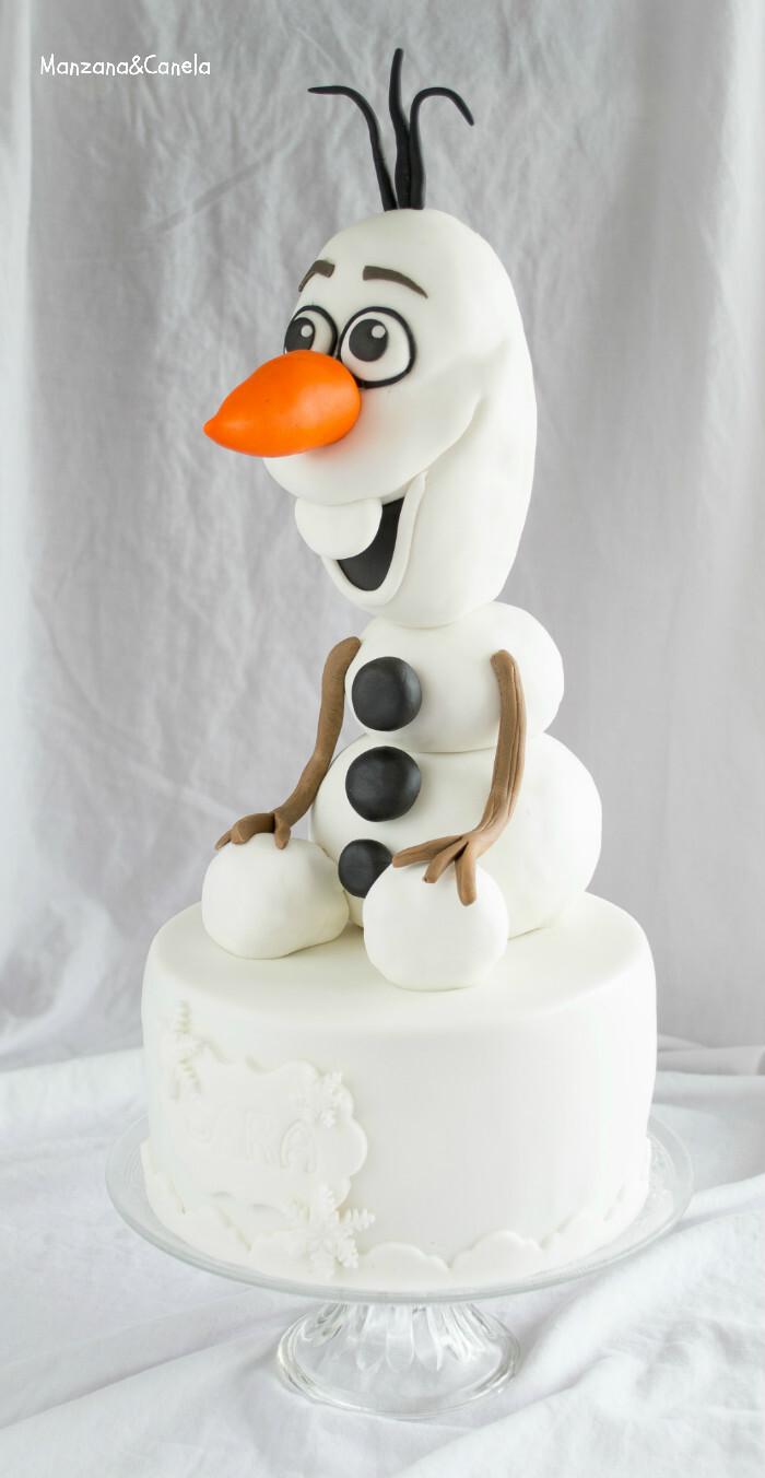 Hazme un muñeco de nieve... Tarta de Olaf (y receta de RKT)