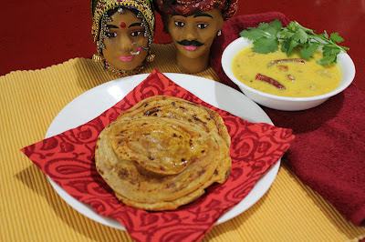 Paneer Gatta with Tikadiya