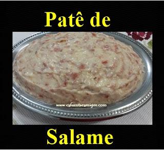 Patê de salame