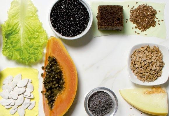vitamina de mamão com melão