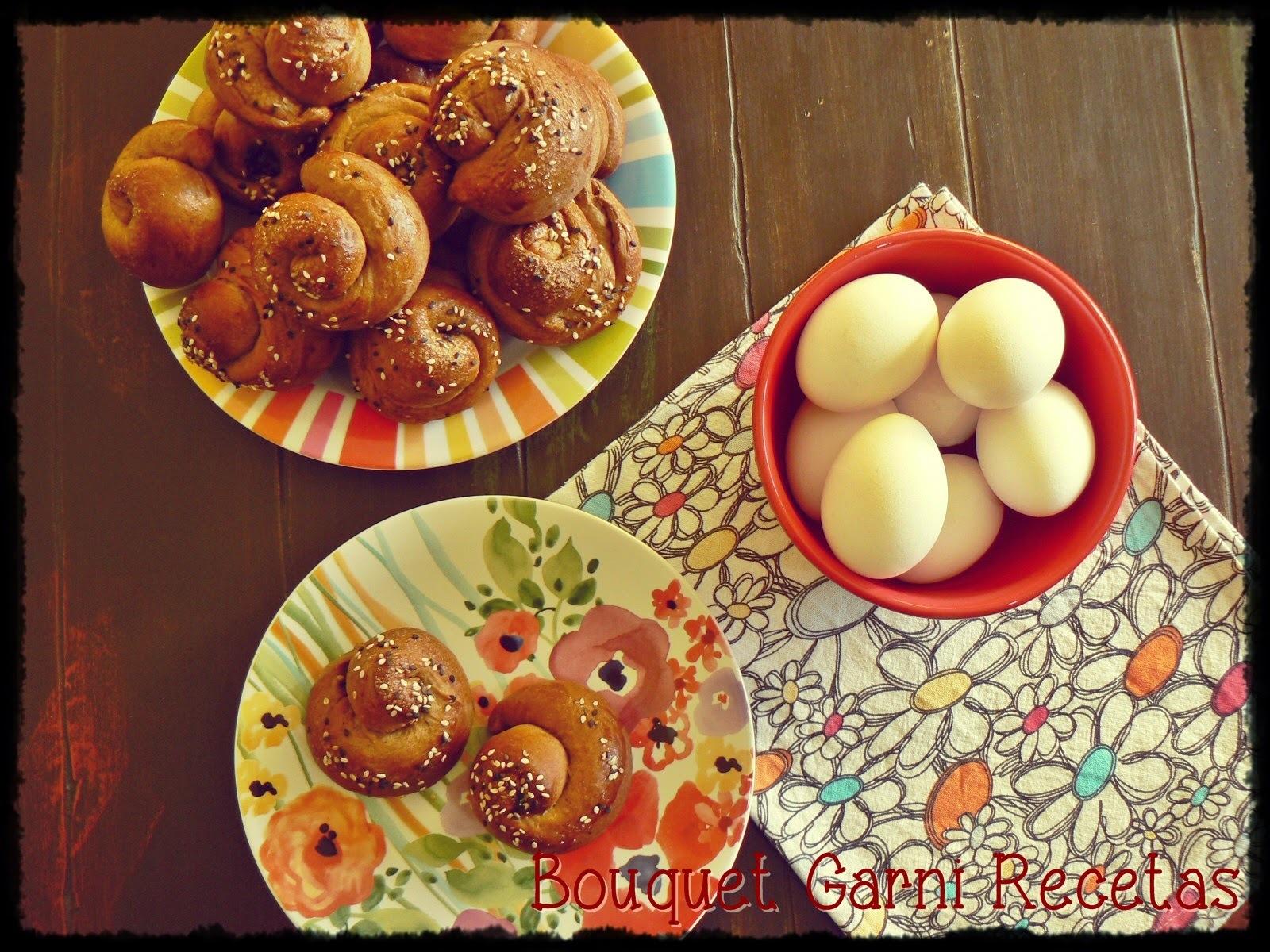 Chorek (pancitos de Pascua armenios)