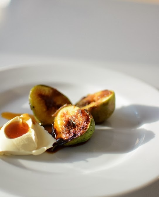 Caramelised Figs With Maple Mascapone - 5 Minute Recipe