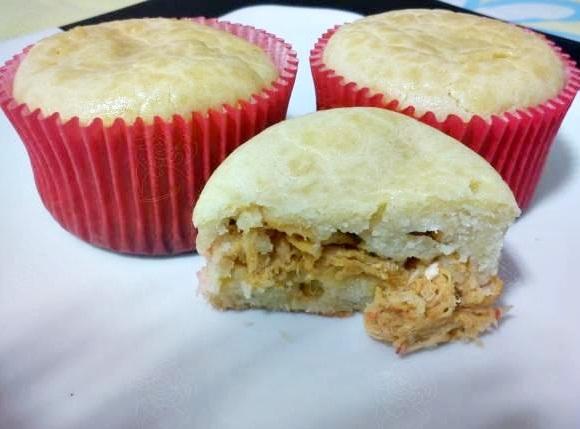 Cupcake torta de frango: super interessante e uma delícia!