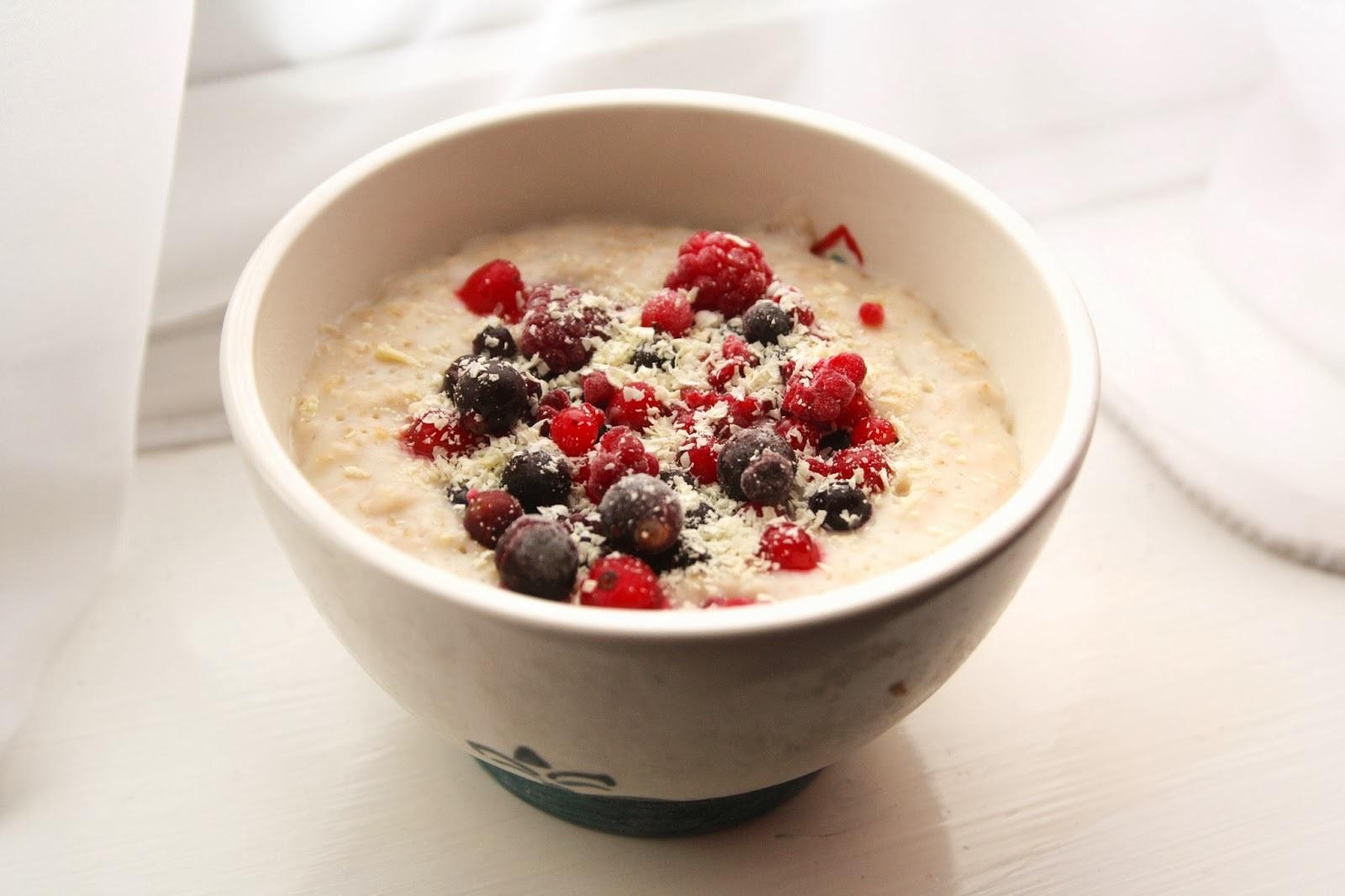 uses cold porridge