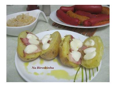 Batatas Saborosas para uma Noite Alemã