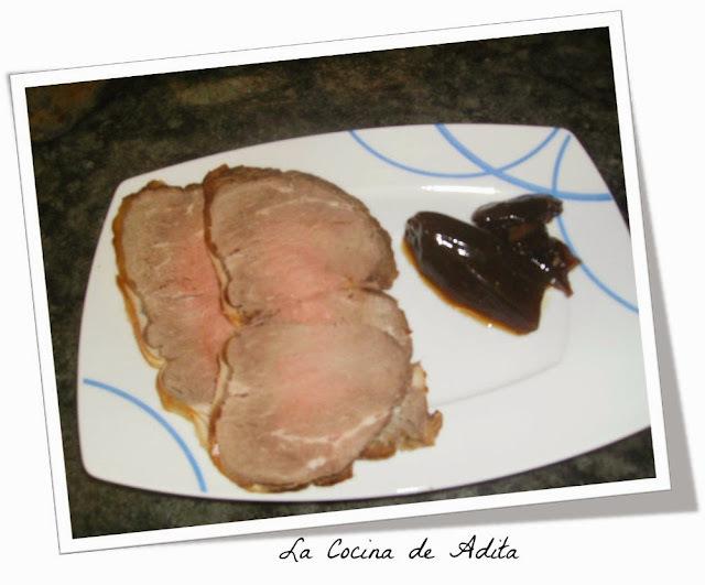 Lomo de buey asado (rosbif) dieta
