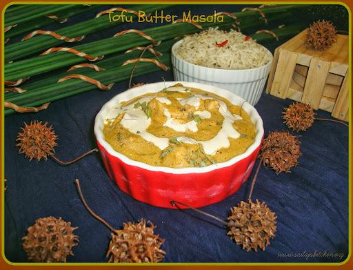 Tofu Butter Masala Recipe /Shahi Tofu Recipe / Tofu Makhani Restaurant Style Recipe / Butter Tofu Recipe / Tofu makhani Recipe