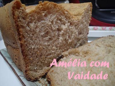 pão de farinha integral panificadora