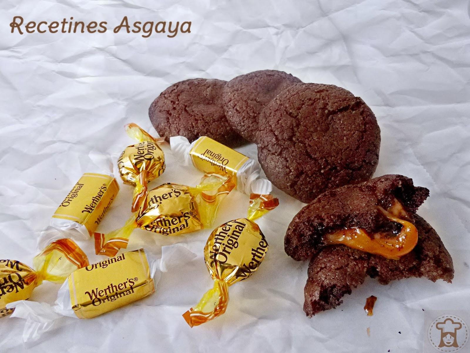 Galletas de Chocolate y Caramelo