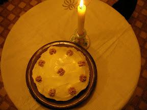 Happy Birthday Blog Cake