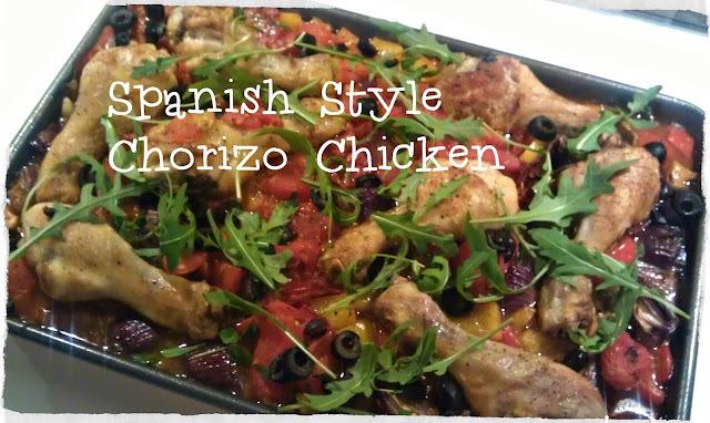 Spanish Style Chorizo Chicken …