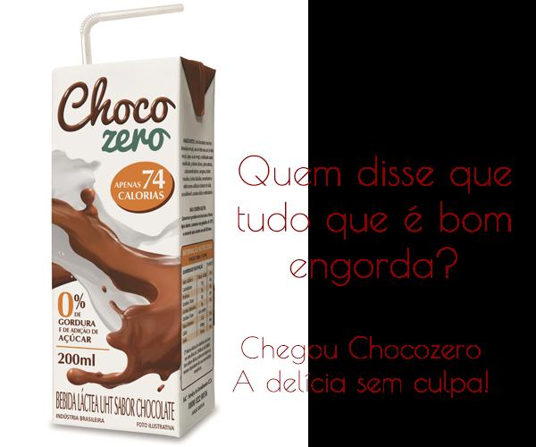 Manual da Dieta: Chocozero, achocolatado sem adição de açúçar e zero de gorduras