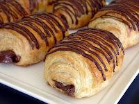 Pain au Chocolat (Francês) - Pão com Chocolate