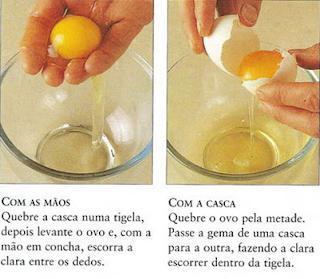 omelete de clara sem oleo