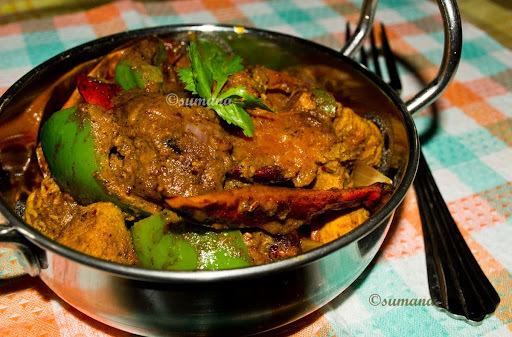 Kadai Chicken: A Spicy Indian Chicken Curry