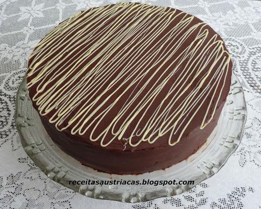 de torta suiça chocolate