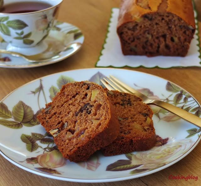 Um pão para a hora do chá | Apple and honey tea bread