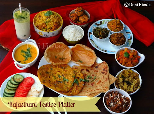 Rajasthani Festive Platter