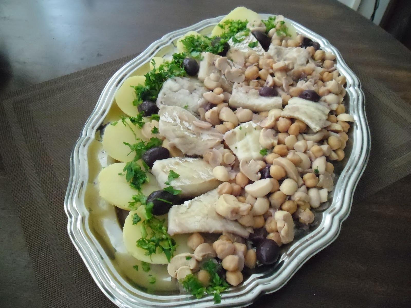 de pratos frios para o verão