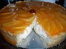 Receita de Torta de nozes e pêssego