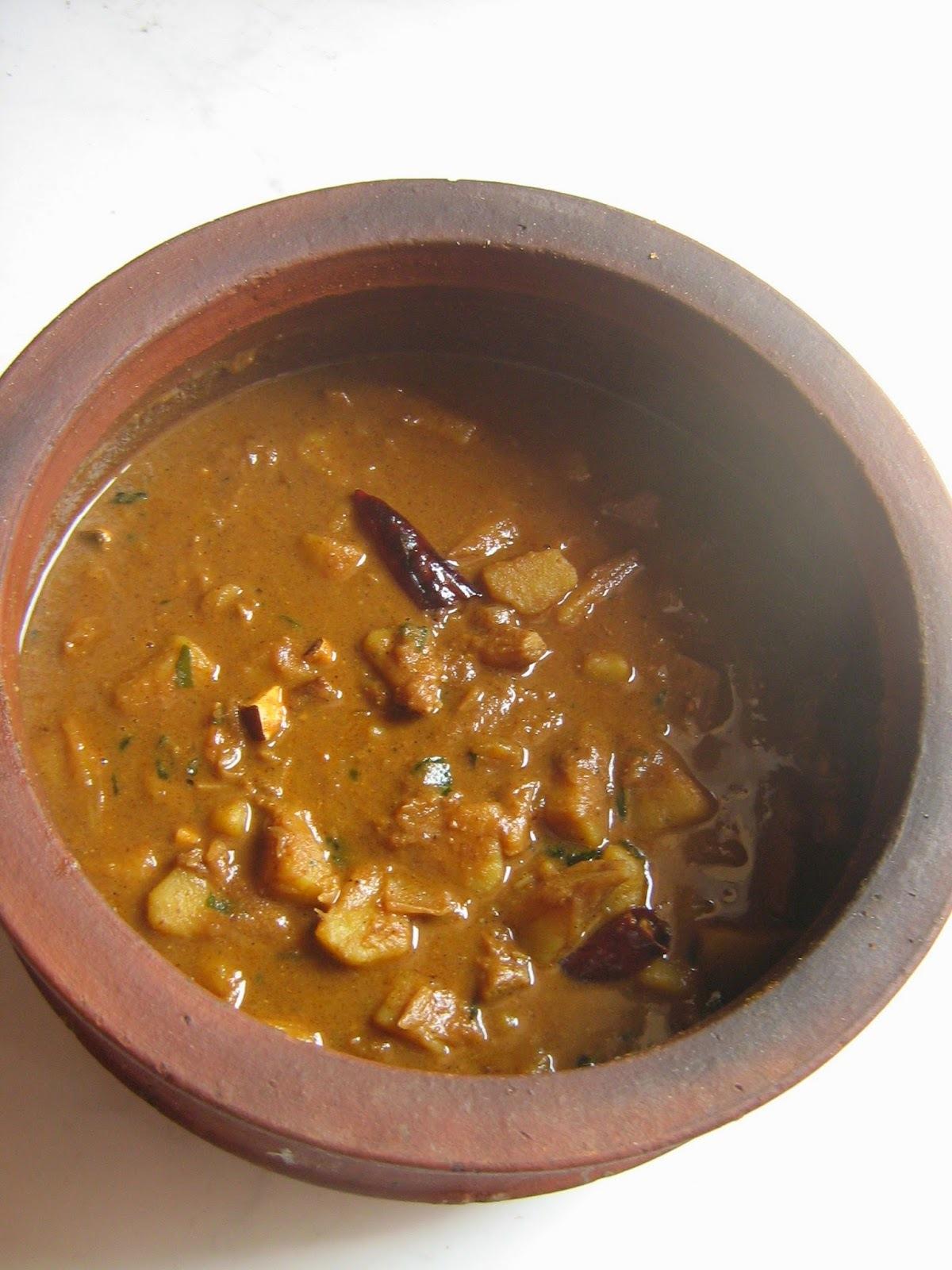 Kadachakka curry / seemachakka curry / breadfruit curry