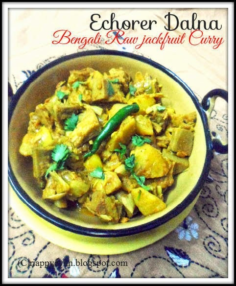 Echorer Dalna (Bengali Raw Jackfruit Curry)