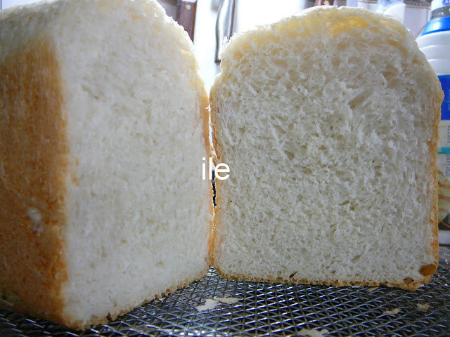 Pan blanco esponjoso
