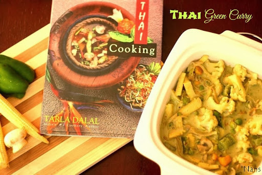 Thai Green Curry (Veg)