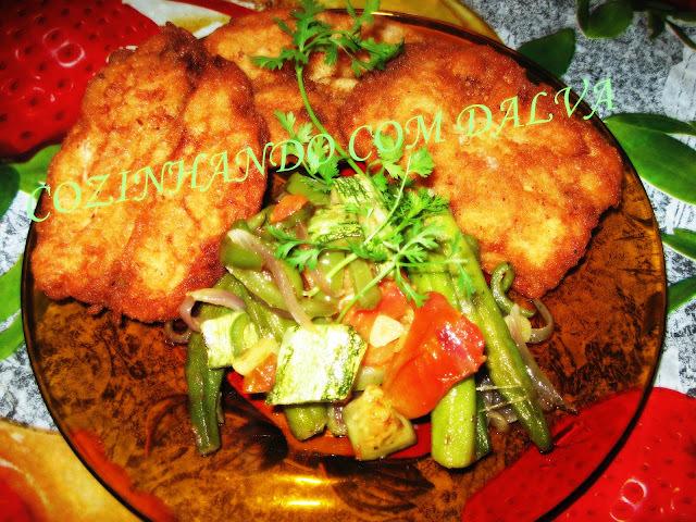 sardinha frita empanada