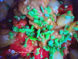 salada para acompanhar carne de porco