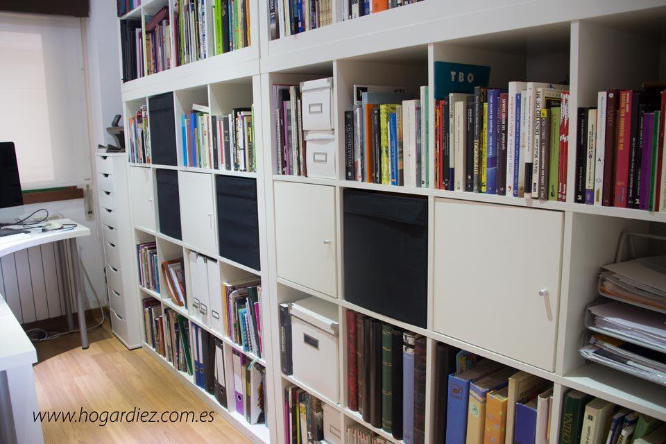 Cómo ordenar libros en nuestro hogar