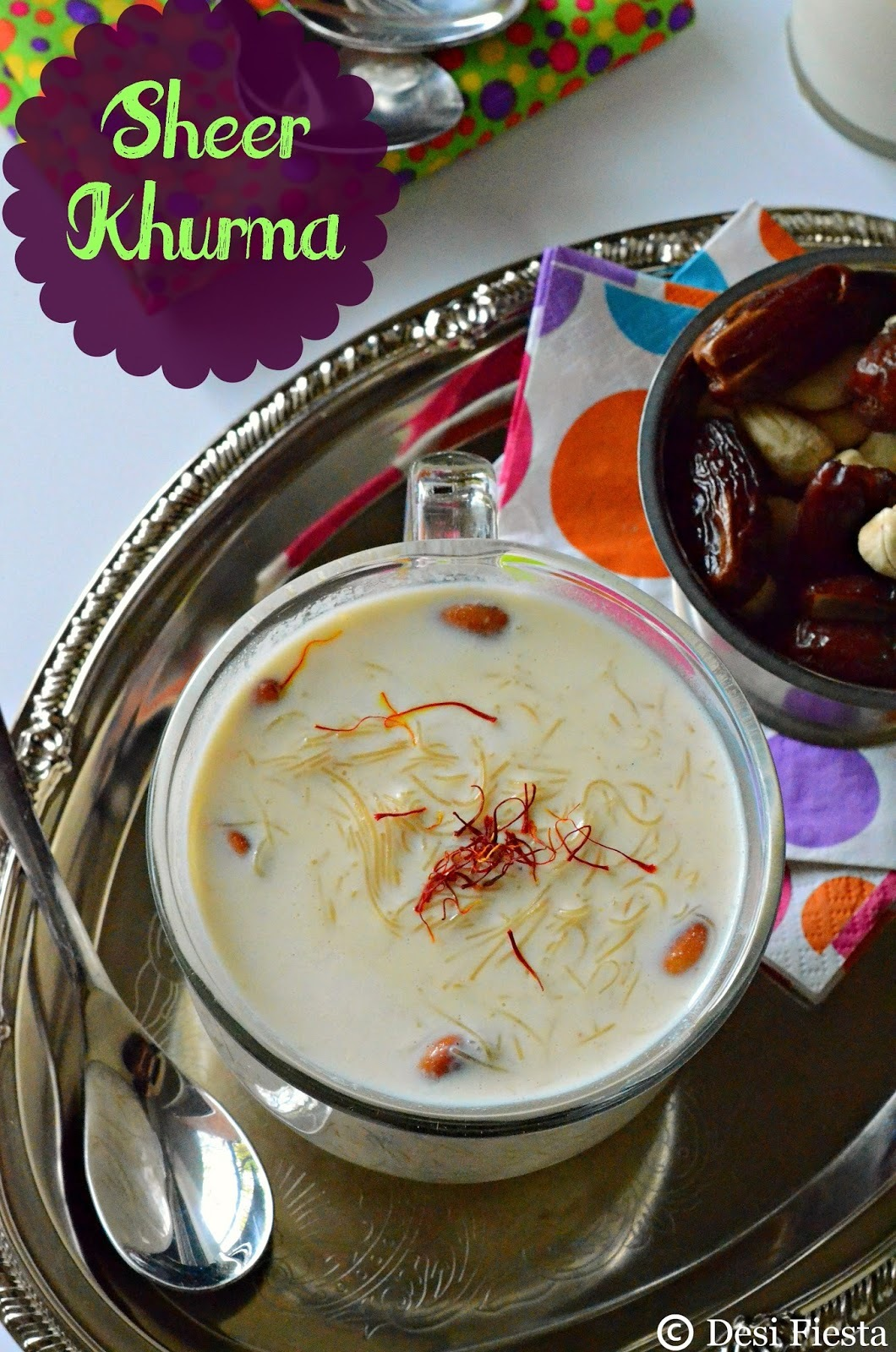 Sheer Khurma Recipe |Sheer Korma|How To Make Sheer Khurma ?| Vermicelli Pudding Recipe
