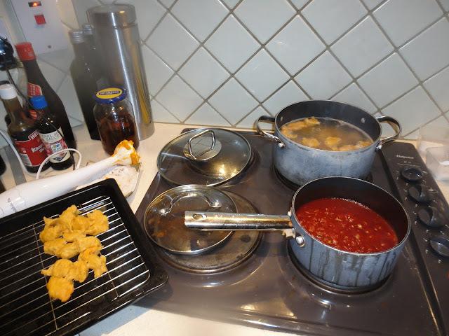 Recipe: Sweet Potato Gnocchi in Tomato Sauce