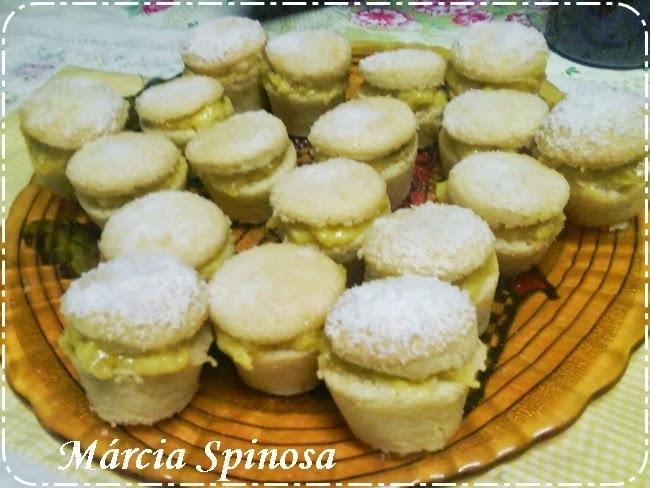 Fofuras de Belém (Fofos de Belas), doce da cozinha Portuguesa, de Márcia Spinosa