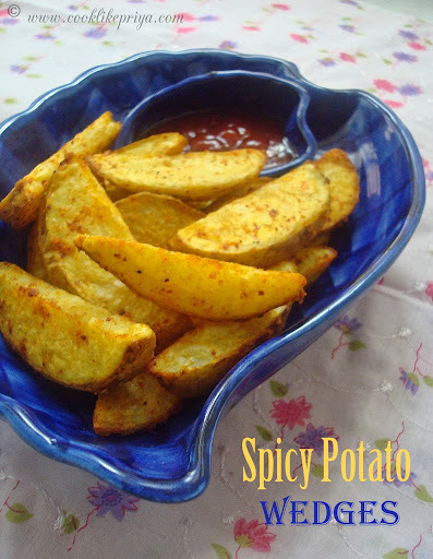 evening snacks with potatos