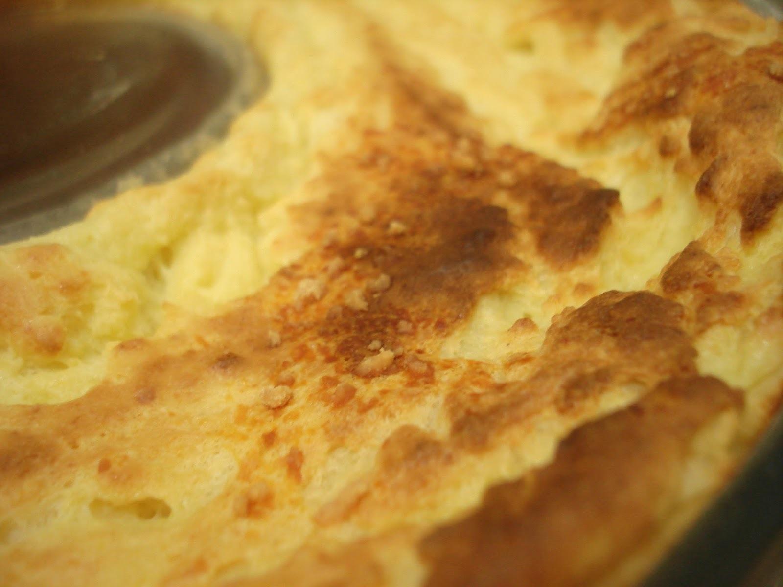 sufle de queijo liquidificador