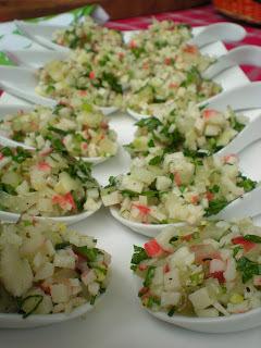 como preparar salsa kanikama