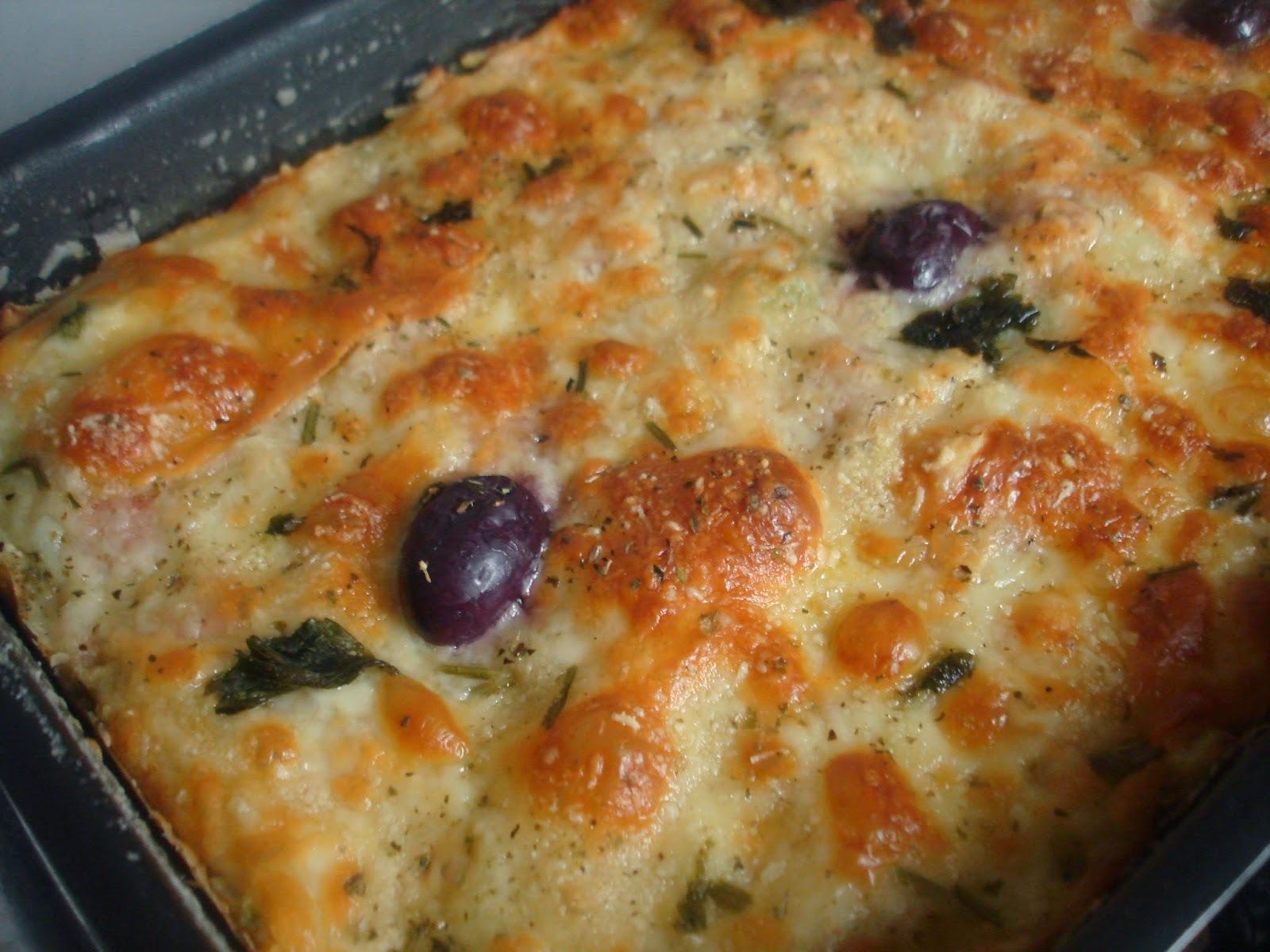 Torta de Forno com o Recheio que tiver em casa: simples e gostosa!