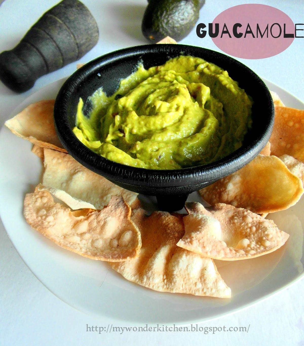 Guacamole - An Avocado dip |Mexican cuisine