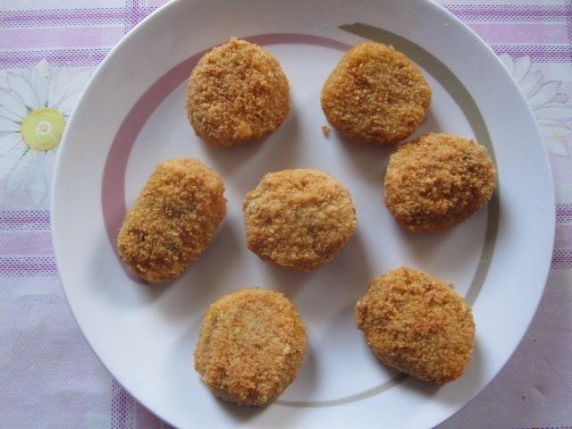 Nuggets de legumes e tofu