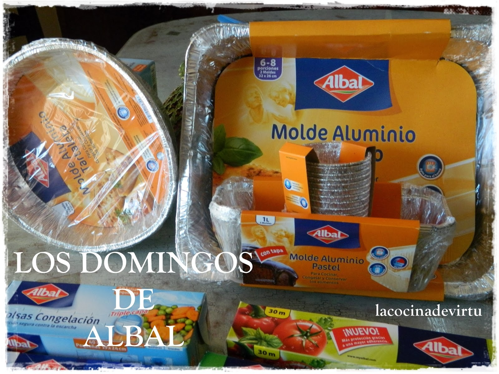 LOS DOMINGOS DE ALBAL: MOLDE ALUMINIO RECTANGULAR