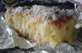bolo gelado com suco de laranja tang