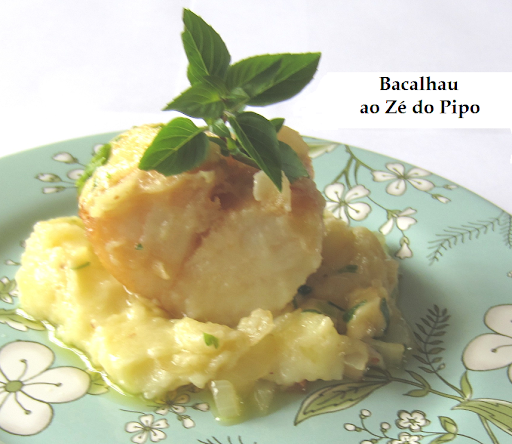 bacalhau light ao forno