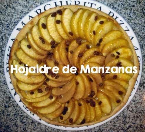 Receta de Tarta de Hojaldre con Manzanas