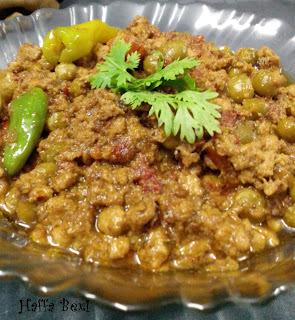 Minced Chicken (Aalo Matar Qeema)