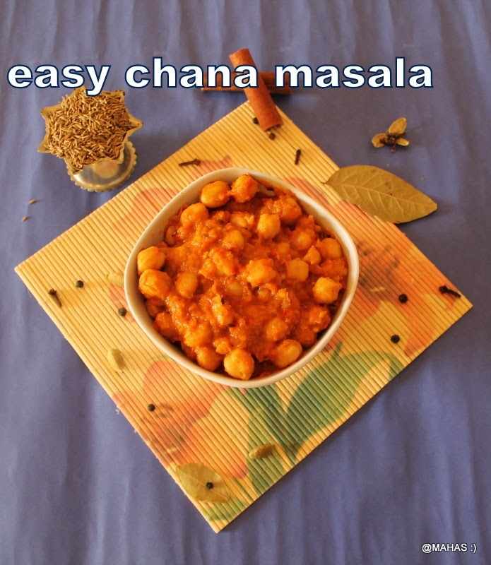 chick peas masala/chana masala/chole masala/How to make garbanzo beans spicy masala gravy/Indian vegetarian gravy dishes for rotis/step by step pictures