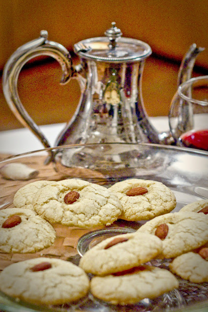 Almond Cardamom Cookies 2 Ways, Gluten Free and/or Vegan