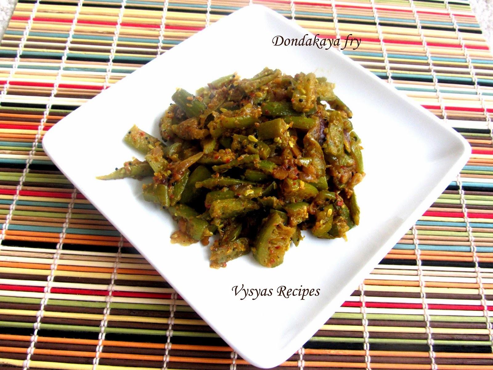 kovakkai for chapathi