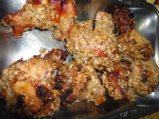 coxinha da asa crocante ao forno