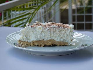Sütés nélküli vaníliás túrótorta